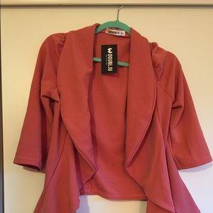 Dusty rose sweater, Doublju